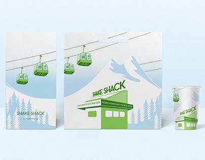Shake Shack, 2019 Holiday Packaging