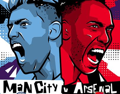 Premier League - Man City v Arsenal