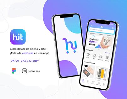 Hit App - UX/UI Design