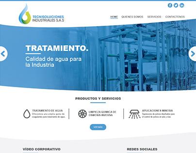 TECNISOLUCIONES - Diseño y desarrollo de sitio web.