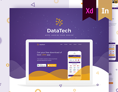 DataTech Apps landing page