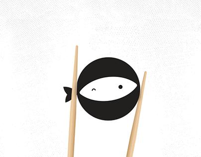 Logo Branding Ninjafish