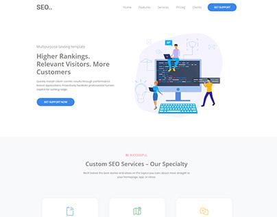 Digital Marketing Agency UI