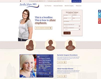 Arsalla Islam, MD Website