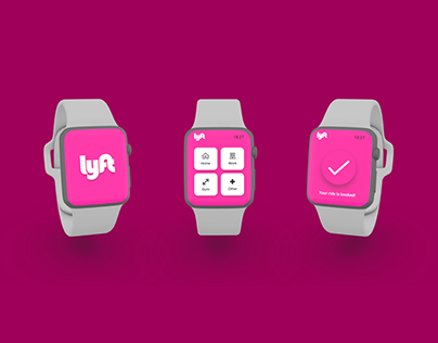 Lyft App Apple Watch Design