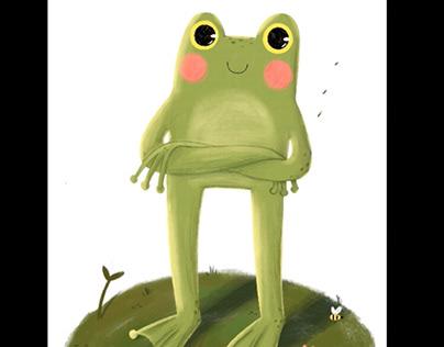 Ilustración infantil animada