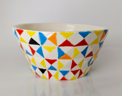 Mosaic Bowl [Ceramics]