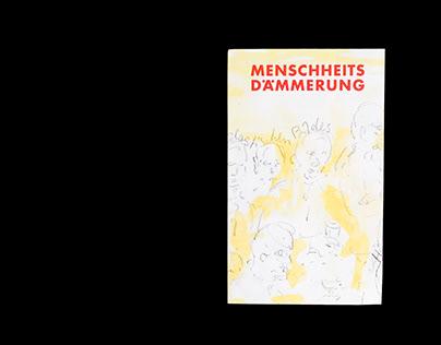 Franz E. Walther: Menschheitsdämmerung   Grafikdesign