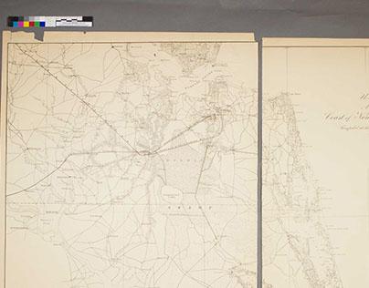 Coast of North Carolina & Virginia 1862