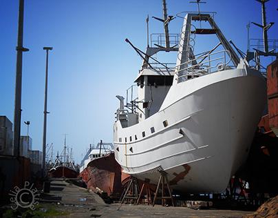 Images of the Port of Mar del Plata I