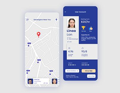 IT Professionals Market Place App