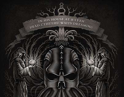 Cthulhu Shrine - Illustration