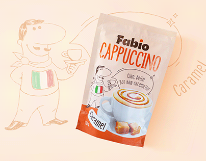 Fabio: packaging design of a line of coffee drinks