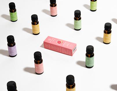 Aromatique - essential oils branding