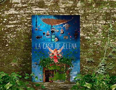 LA CASA DE ELENA · Diseño de Poster