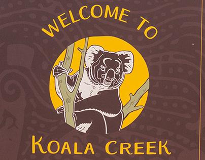 Koala Creek: Animal Enclosure design @Longleat
