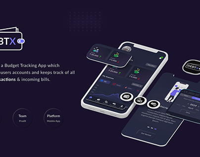 DebtX - Budget Management App