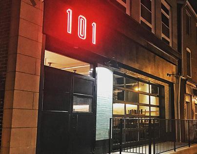 101 Delibar - Restaurant Branding & Design