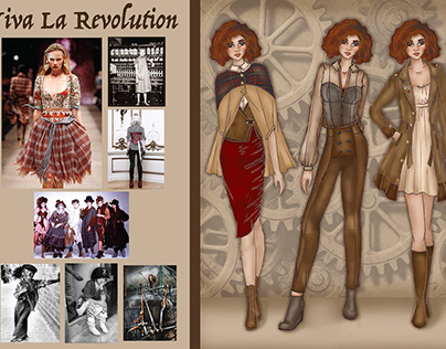 Viva La Revolution Fashion Collection