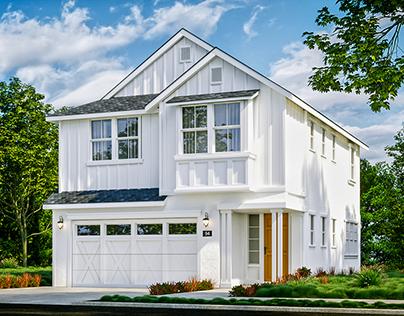 Trumark Homes - Glass Bay Exteriors