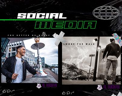Social Media Design - Photography - Hookah / Shisha