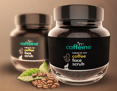 mcaffeine scrub (product modeling)