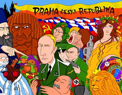 Illustration about Prague, Czech Republic