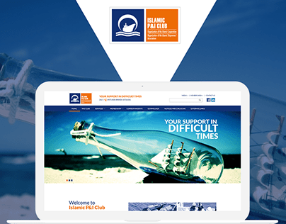 UX/UI website design for Islamic P&I