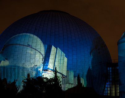 Light Art Projects @ Planetarium Berlin 2013