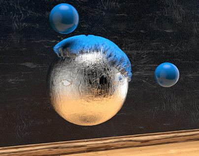 3D Sphere animation