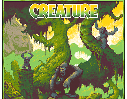 Creature Skateboards poster/deck graphic
