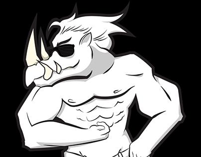 Logo Design - White Rhino