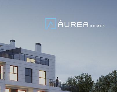 Aurea Homes Branding and Site