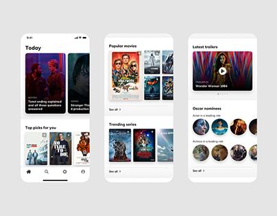 Movie app - Concept