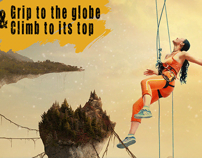 Grip 'n Climb , social media motivational campaign