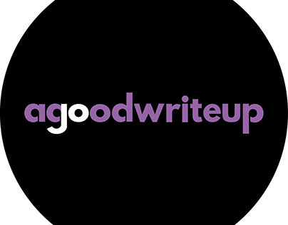 agoodwriteup | Logo