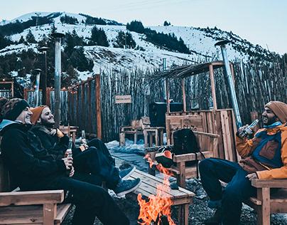 La choza de montaña 2019 (Bariloche, Argentina)
