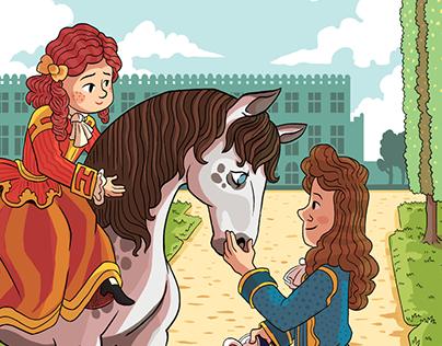 Mystère à Versailles : Le cheval inconnu