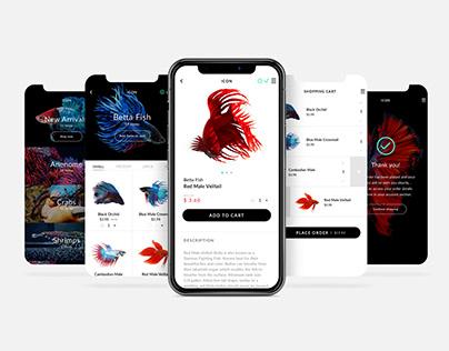 iOS UI Design Concept