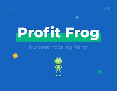 Profit Frog. Business Modeling Planer