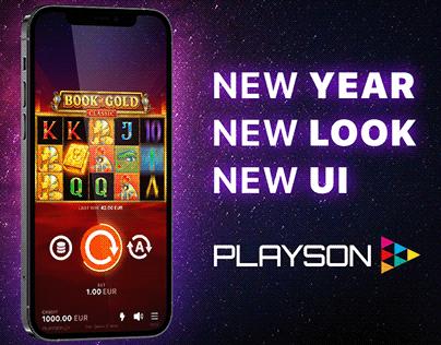 Playson New UI / UX