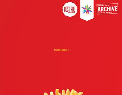 McDonald's / Unmistakable / Print