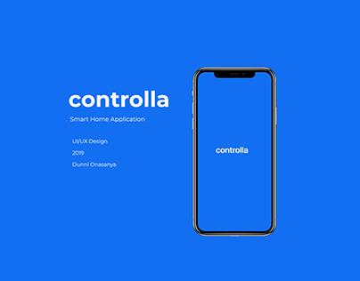 controlla - A Smart Home App Design
