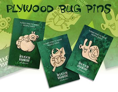 Plywood pins