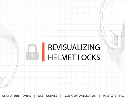 Lock for Helmets