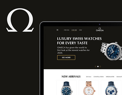OMEGA watch redesign