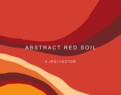 Free Abstract Red Soil Background - JPG & VECTOR