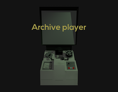 3D Works - Interactive archive player