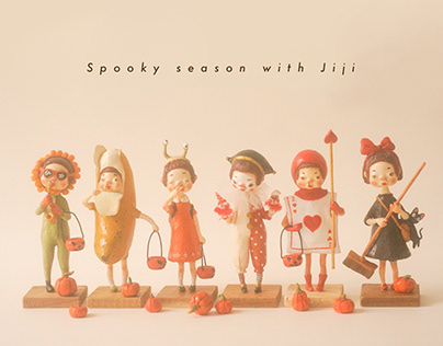 SPOOKY SEASON WITH JIJI