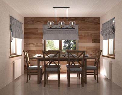 Дизайн интерьера дачного дома